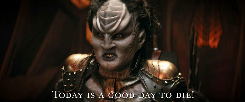 STDP 040 - Star Trek Discovery S2E14 Such Sweet Sorrow, Part 2 (27:42) - Today is a good day to die! (in Klingon).