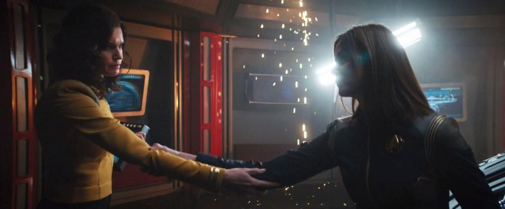 STDP 041 - Star Trek Discovery S2E14 (41:25) - Una & Admiral Cornwell saying goodbye (forever).
