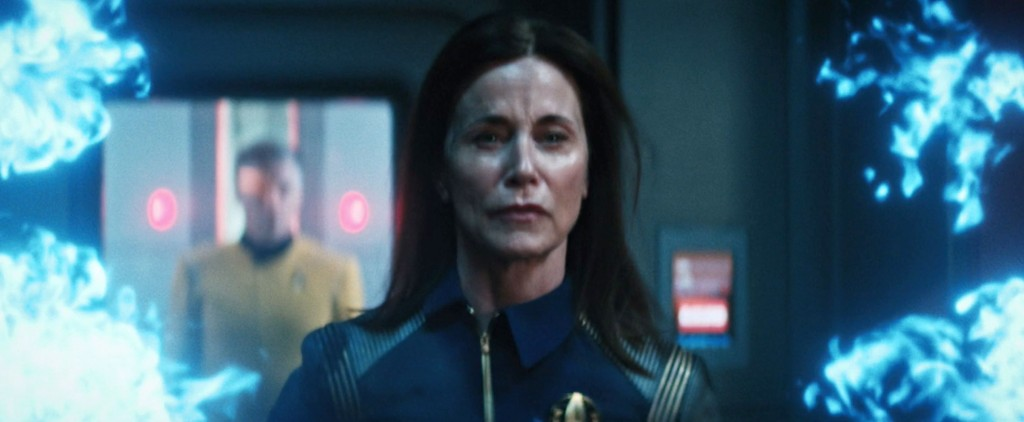 STDP 041 - Star Trek Discovery S2E14 (46:42) - The last second of Admiral Cornwell.