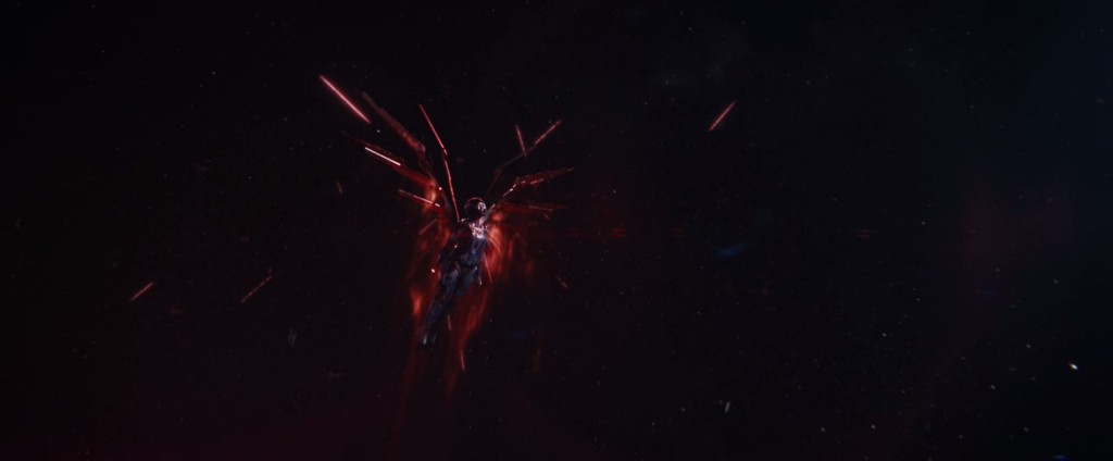 STDP 041 - Star Trek Discovery S2E14 (52:24) - The Red Angel flies towards the wormhole.