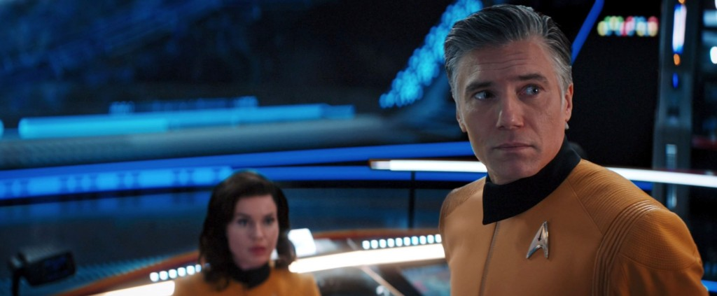 STDP 041 - Star Trek Discovery S2E14 (1:02:19) - Pike amazed about Spock's appearance.