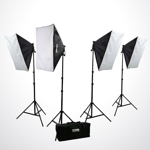 Photo Video Studio Lighting Kit
