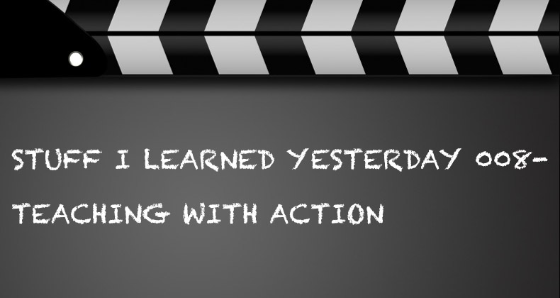 SILY Episode 08-Teaching With Action