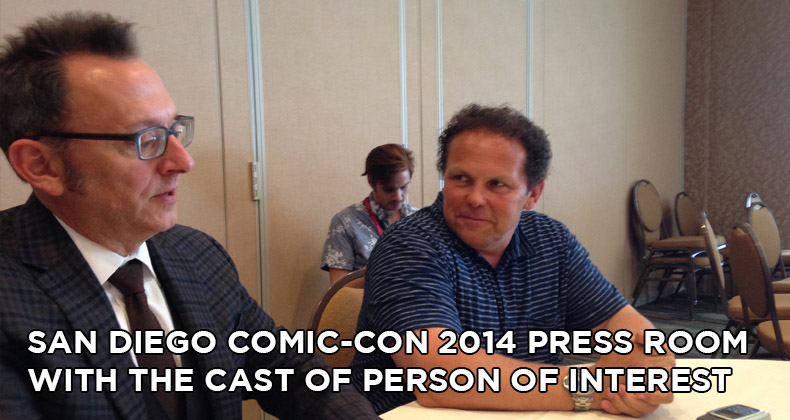 SDCC 2014 Person of Interest Press Room Interviews