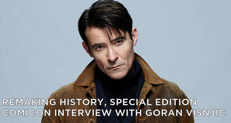 RMSE01 – Special edition – ComicCon Interview With Goran Visnjic