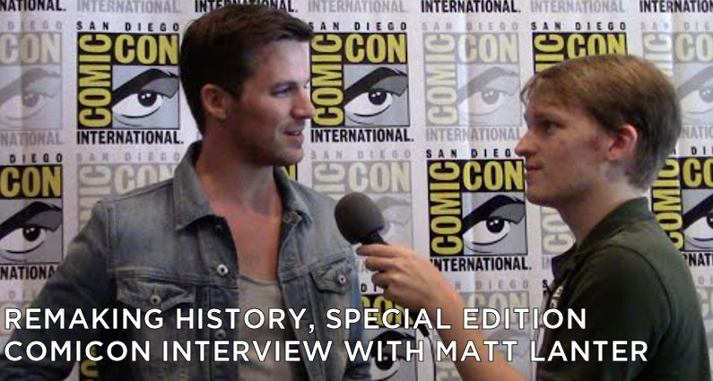 RMSE04 – Special edition – ComicCon Interview With Matt Lanter
