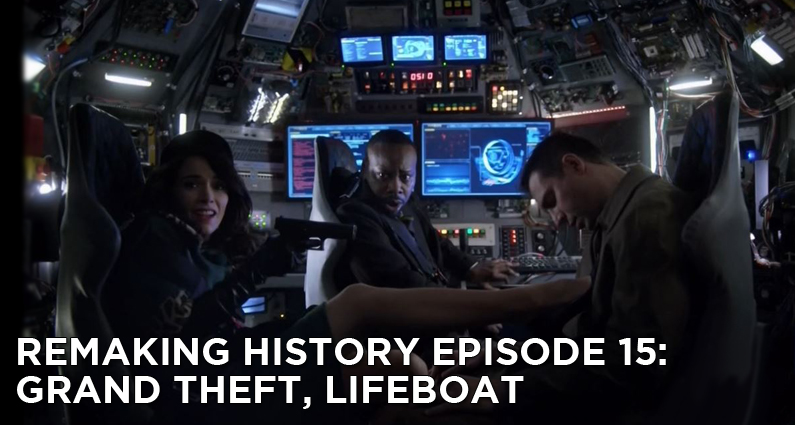 RM15 – S1E15 – Grand Theft, Lifeboat