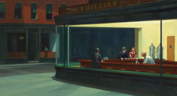 Edward Hopper's painting Nighthawks