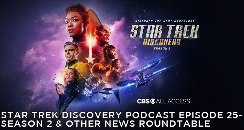 STDP 025 – Star Trek Discovery – Season 2 Preview and Other News Roundtable