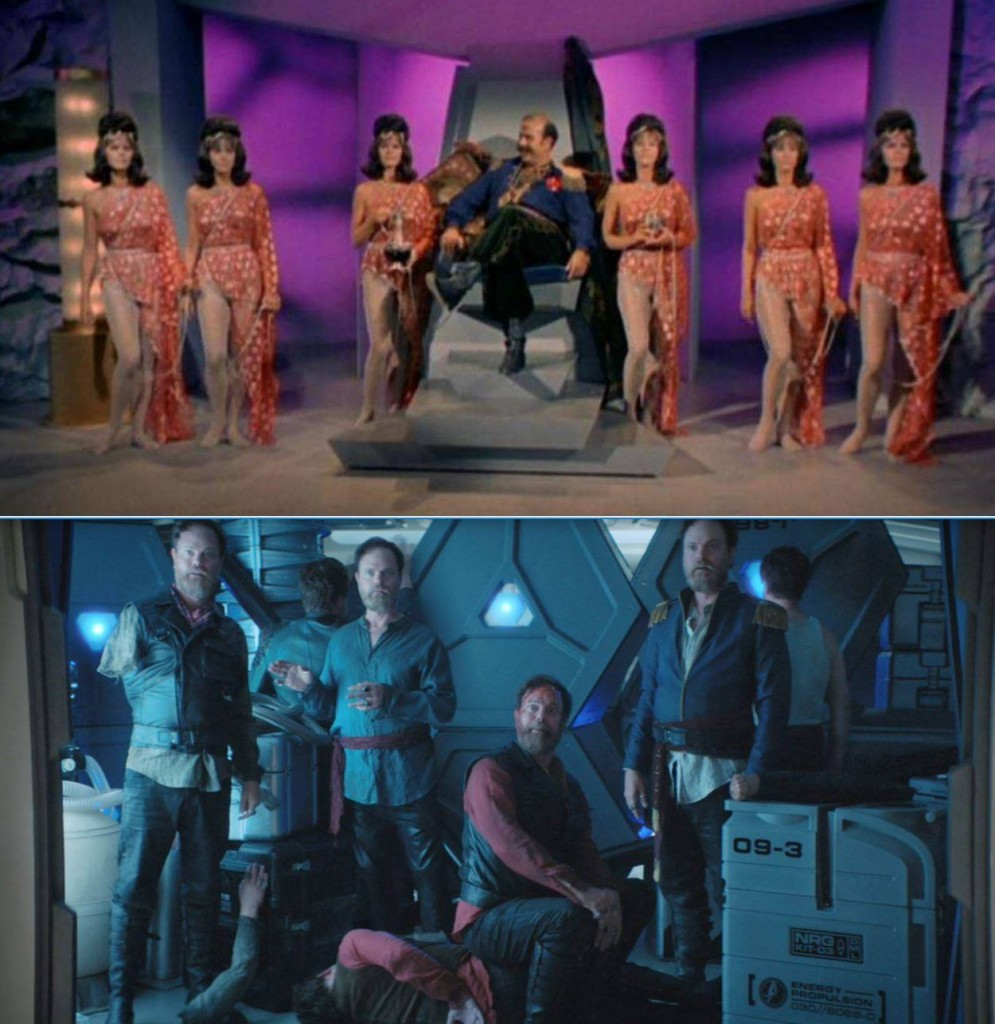 STDP 024 - The Escape Artist - Fred's image, comparing the androids in I, Mudd with The Escape Artist