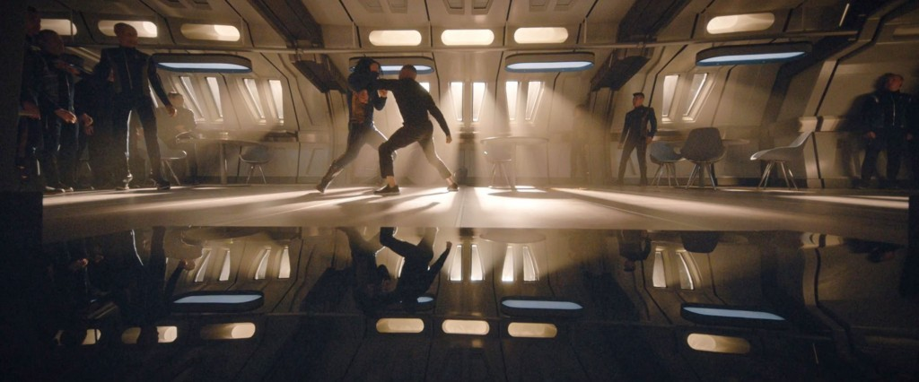 STDP 033 - Star Trek Discovery S2E8 (32:32) - The Culber-Tyler mess hall fight.