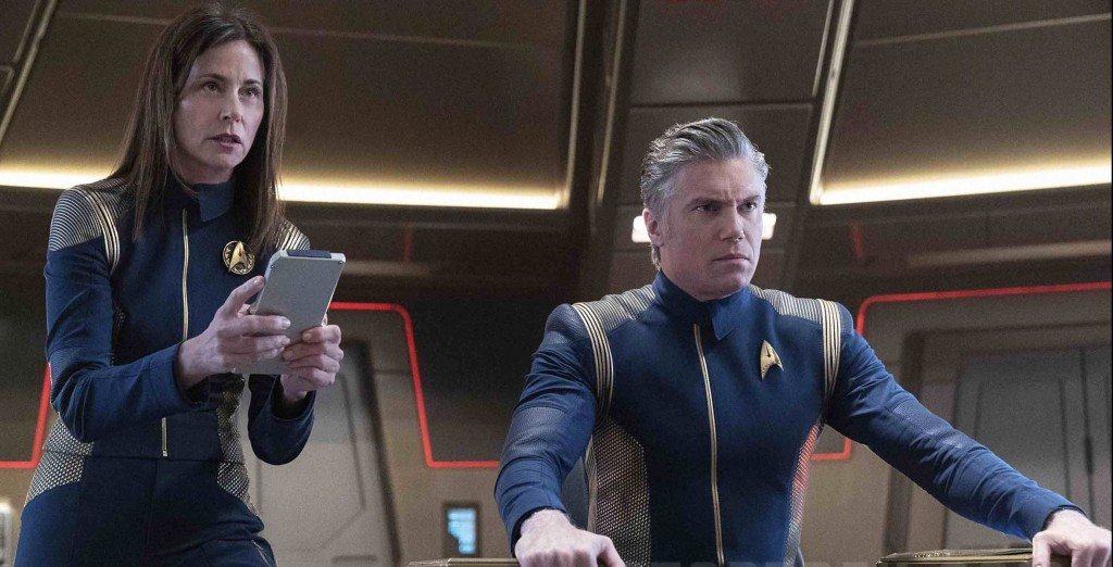 STDP 034 - Star Trek Discovery S2E9 (27:26) - Cornwell & Pike trying to survive the minefield.