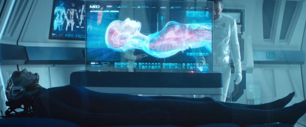 STDP 035 - Star Trek Discovery S2E10 (02:16) - Autopsy of Airiam.