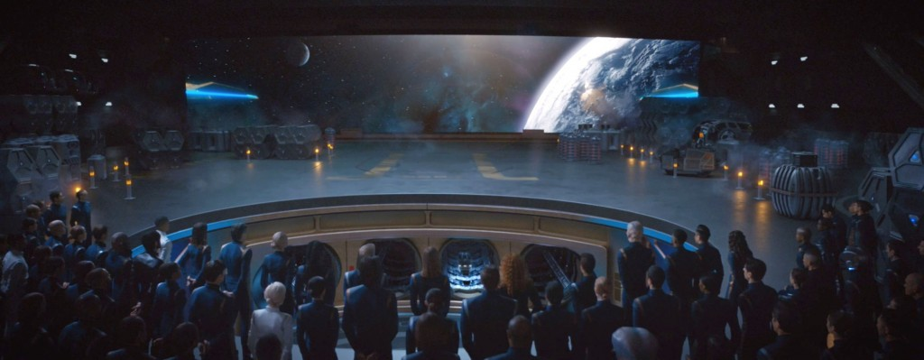 STDP 035 - Star Trek Discovery S2E10 (05:13) - Airiam's burial pod leaving the USS Discovery.