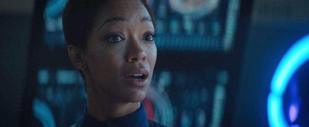 STDP 035 - Star Trek Discovery S2E10 (23:38) - Burnham starting to believe what Leland is telling her.