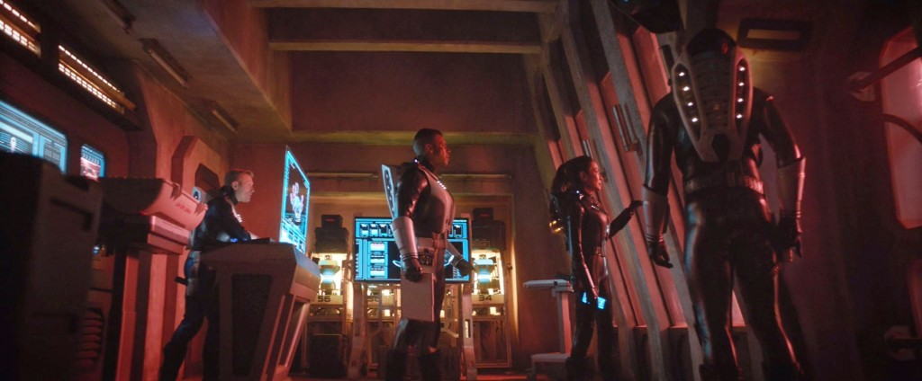 STDP 035 - Star Trek Discovery S2E10 (44:20) - Watching the Red Angel arrive.