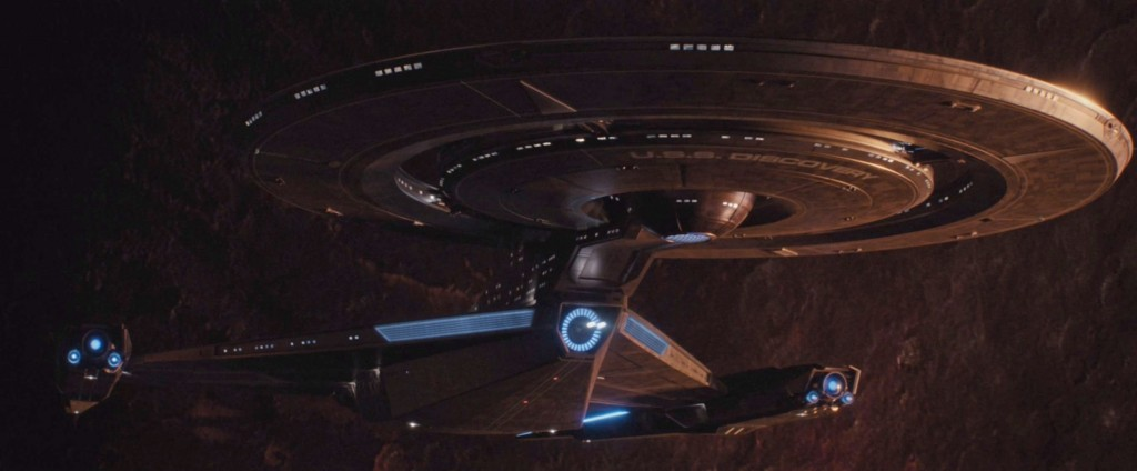 STDP 034 - Star Trek Discovery S2E9 (08:39) - USS Discovery powering up.