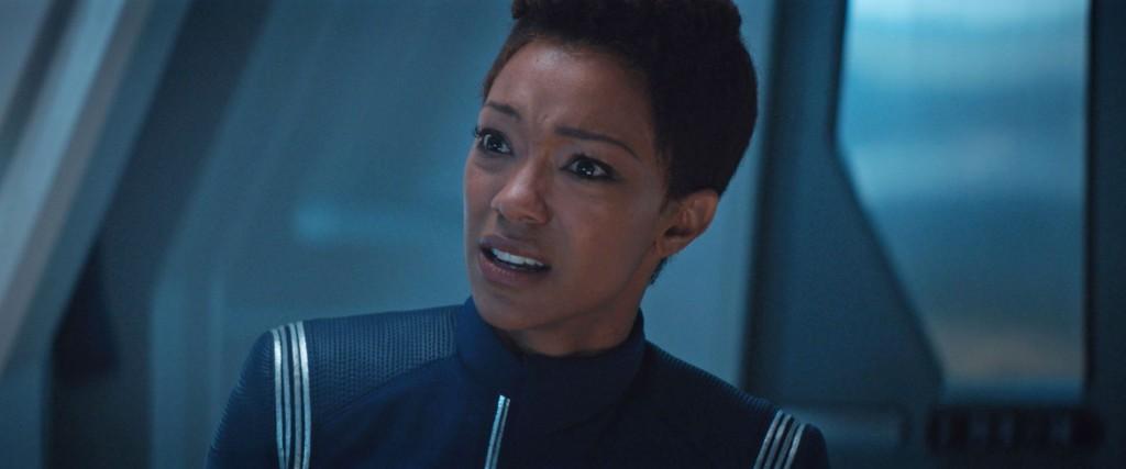 STDP 034 - Star Trek Discovery S2E9 (25:44) - Michael left by Spock in devastation.