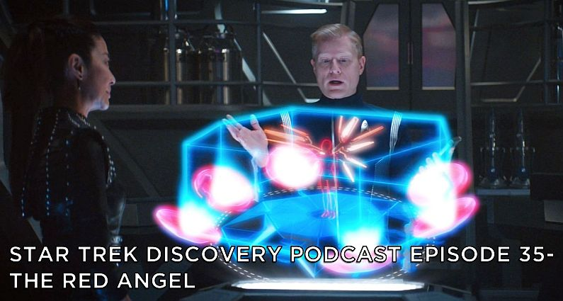 STDP 035 – Star Trek Discovery – S2E10 – The Red Angel