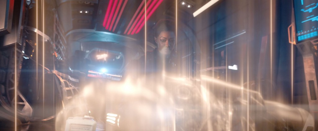 STDP 037 - Star Trek Discovery S2E12 (20:36) - Transporting one alive Section 31 crew member.