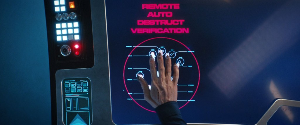 STDP 038 - Star Trek Discovery S2E13 (06:39) - Saru verifies the remote autodestruct order.