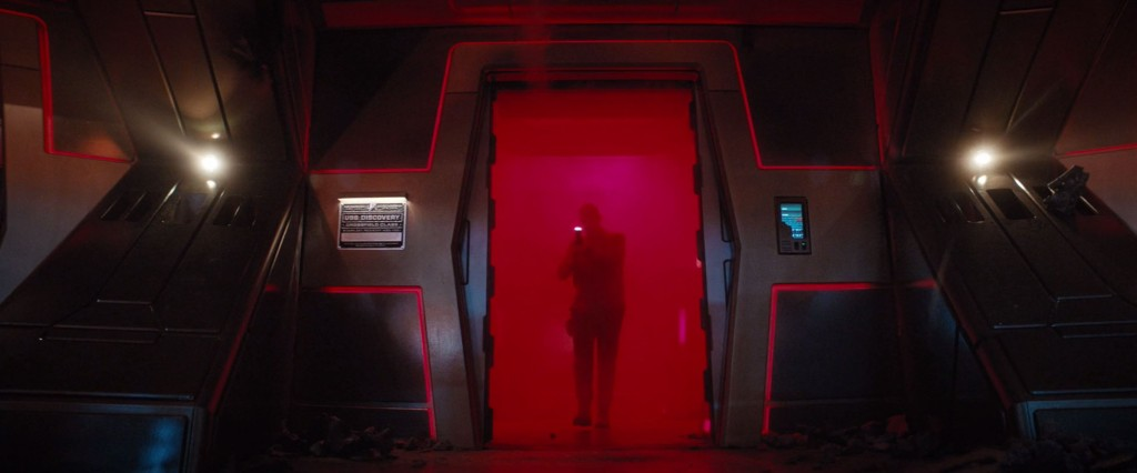 STDP 038 - Star Trek Discovery S2E13 (11:22) - The Red Devil entering the Discovery bridge (Michael's vision).