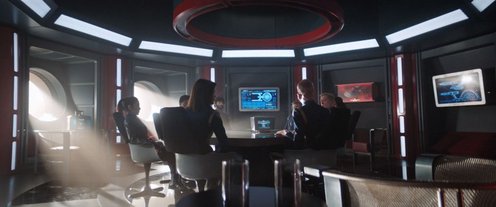 STDP 038 - Star Trek Discovery S2E13 (15:24) - USS Enterprise meeting room.