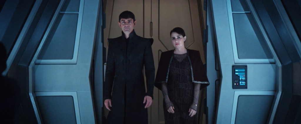 STDP 038 - Star Trek Discovery S2E13 (30:37) - Sarek & Amanda arriving on the USS Discovery.