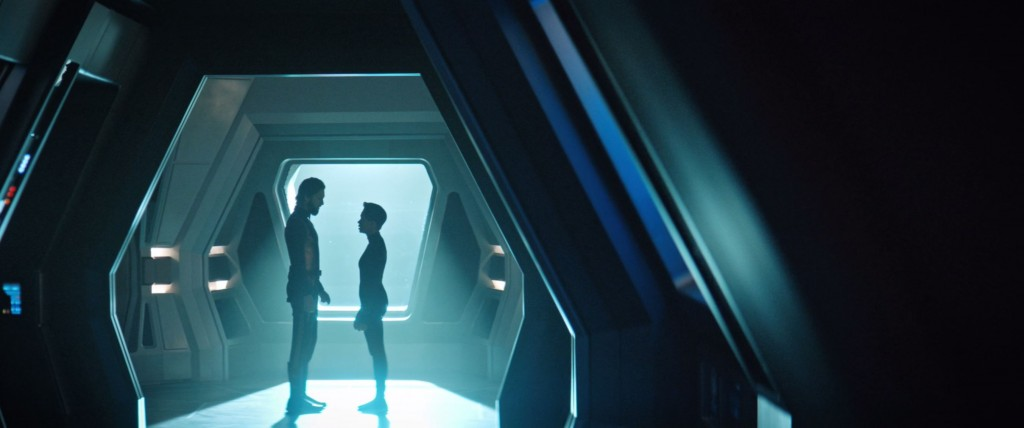STDP 038 - Star Trek Discovery S2E13 (36:15) - Ash & Michael saying goodbye.
