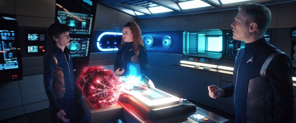 STDP 038 - Star Trek Discovery S2E13 (44:10) - The mission's the mission, whatever I see.