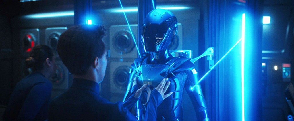 STDP 040 - Star Trek Discovery S2E14 Such Sweet Sorrow, Part 2 (04:19) - Time suit being assembled.