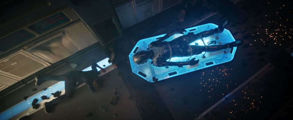 STDP 040 - Star Trek Discovery S2E14 Such Sweet Sorrow, Part 2 (14:13) - Time suit transport being hit.