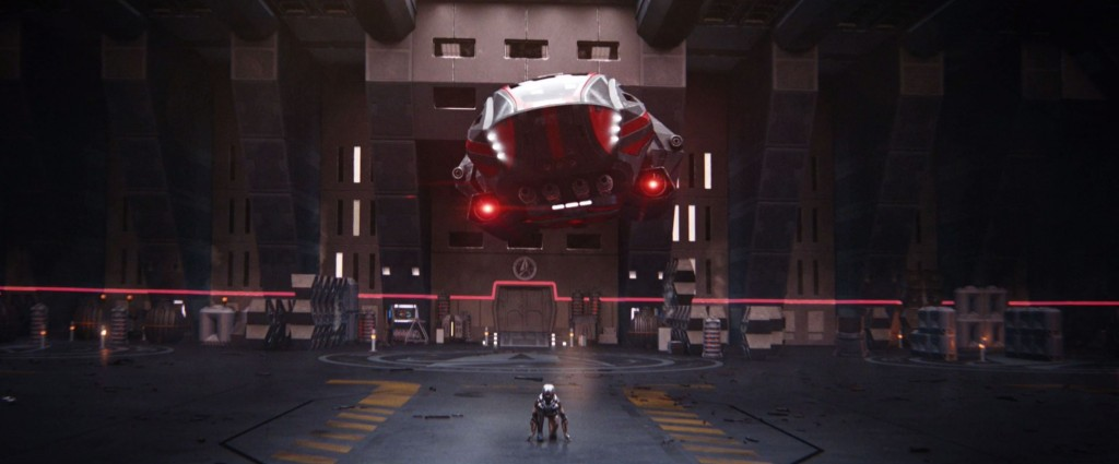STDP 040 - Star Trek Discovery S2E14 (18:46) - Michael & Spock ready to exit the shuttle bay.