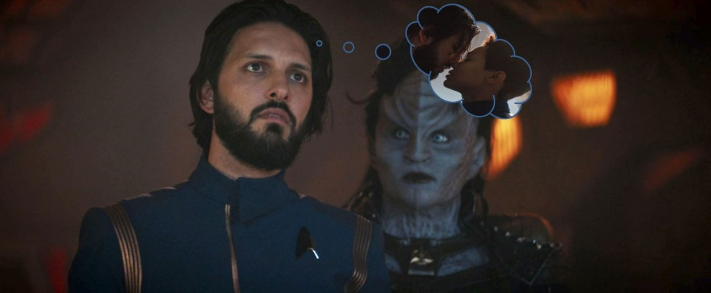 STDP 041 - Star Trek Discovery S2E14 (55:10) - Ash thinking of Michael when she flies into the wormhole.