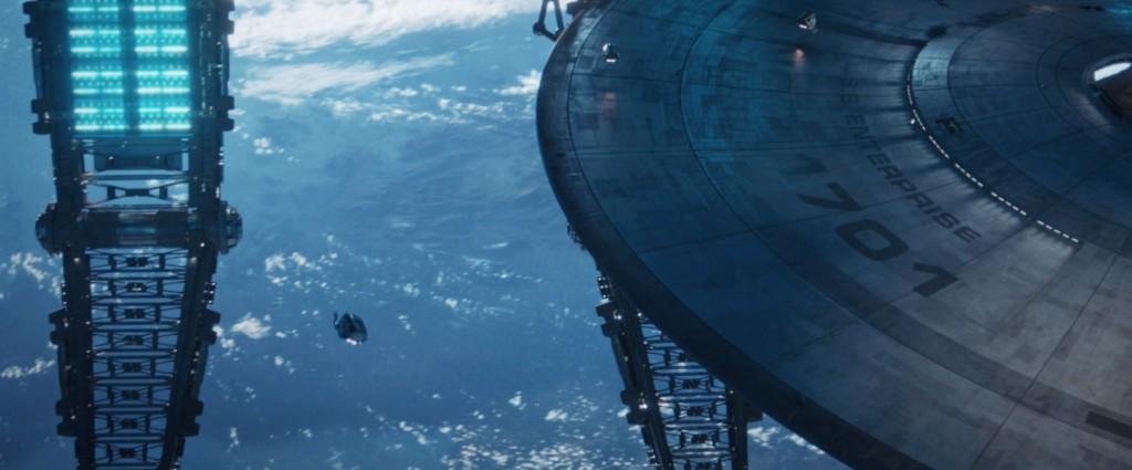 STDP 041 - Star Trek Discovery S2E14 (1:00:18) - U.S.S. Enterprise in space dock.