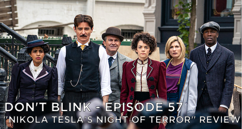 DB 57 – S12E04 – Nikola Tesla's Night of Terror