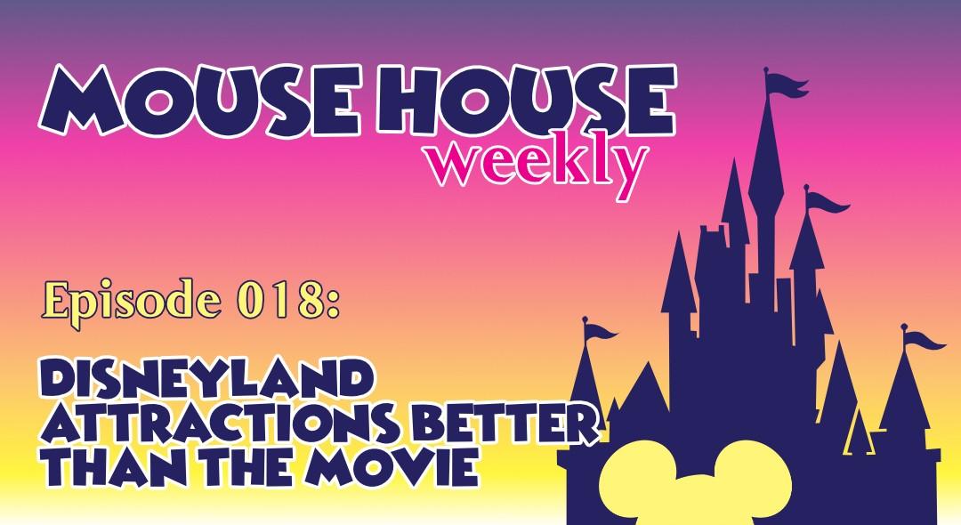 Disneyland Rides Better Than Their Movie