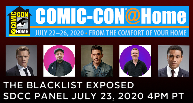The Blacklist Panel From San Diego Comic-Con in 2020