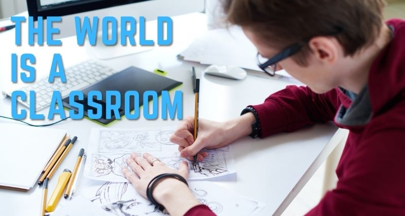 564- The World is a Classroom