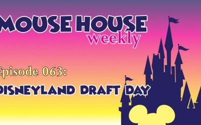 Disneyland Draft Day