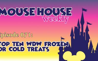 Top Ten WDW Frozen or Cold Treats