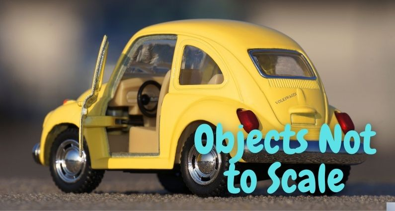 575- Objects Not to Scale