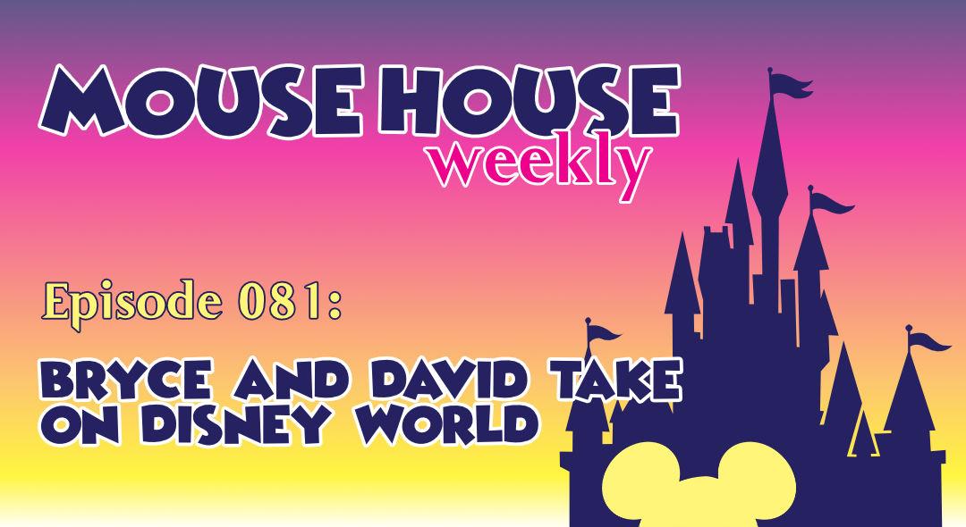 Bryce and David Take on Disney World